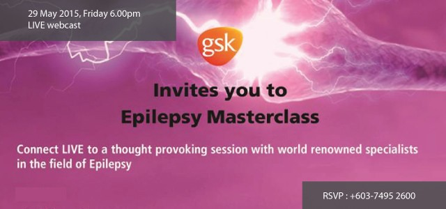 Epilepsy Masterclass Live Webcast from London For more information, please view the invitation card. RSVP: