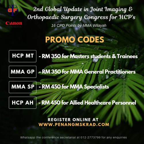 Promo Code HCP Congress