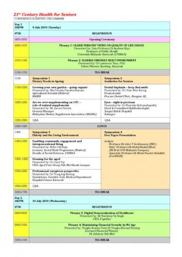 2nd MMA Conference on Health of the Older Person Registration and  Hotel Page 02